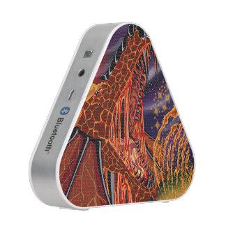 Altavoces de plata de Bluetooth del dragón de la Altavoz Bluetooth