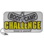 Altavoces del desafío de Boot Camp
