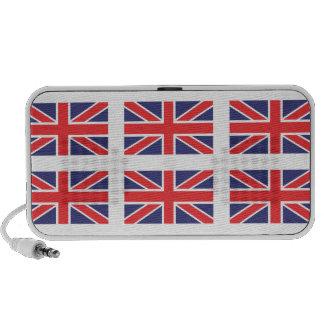Altavoces del Doodle de la bandera de Gran Bretaña