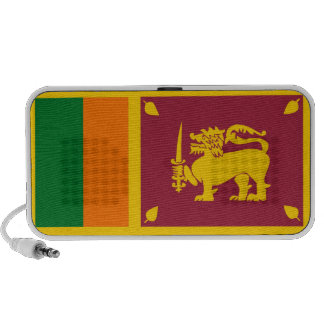 altavoces del doodle de la bandera de país de Sri