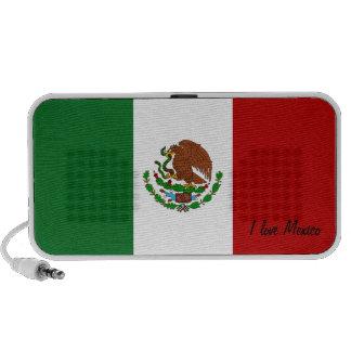 Altavoces del Doodle de la bandera mexicana de Per
