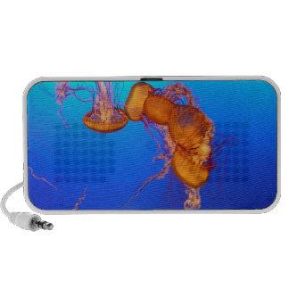 Altavoces del Doodle de las medusas que brillan in