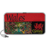 Altavoces del Doodle de País de Gales