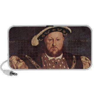 Altavoces del Doodle del rey Enrique VIII
