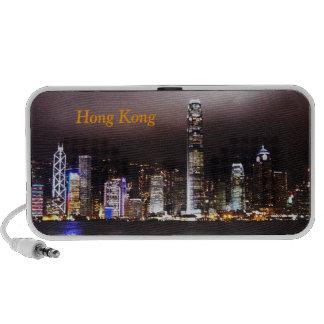 Altavoces del horizonte de Hong Kong