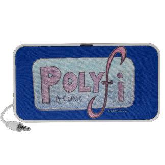 Altavoces del logotipo de PolyFi