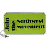 Altavoces del noroeste del movimiento
