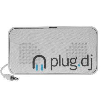 altavoces del ordenador portátil de plug dj