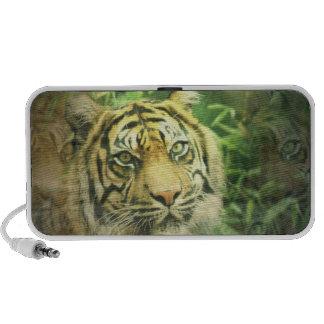 Altavoces del tigre siberiano
