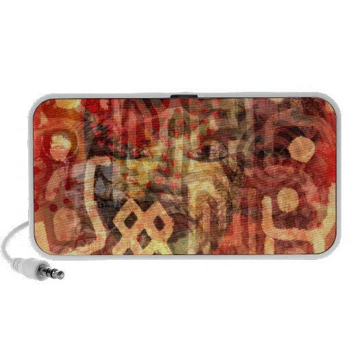 Altavoces elegantes tribales del iPad