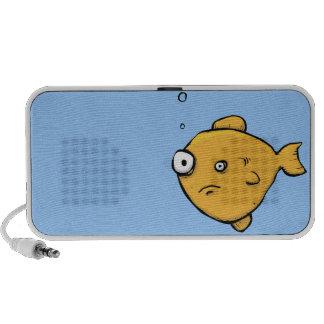 Altavoces extraños del reproductor Mp3 de iPod del