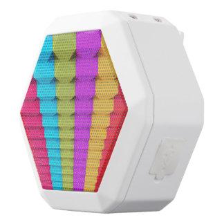 Altavoces geométricos coloridos de REX de Boombot Altavoces Bluetooth Blancos Boombot REX