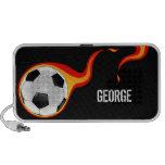 altavoces personalizados del balón de fútbol