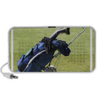 Altavoces portátiles de la bolsa de golf