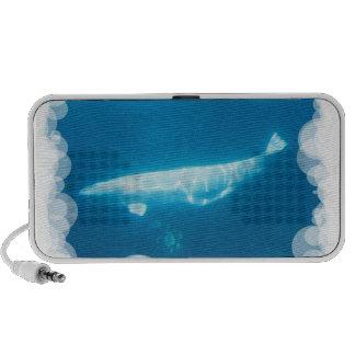 Altavoces portátiles de las ballenas de la beluga