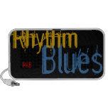 Altavoces portátiles de los azules R&B del ritmo