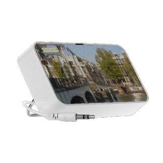 Altavoces portátiles del viaje de Amsterdam
