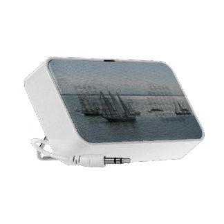 Altavoces portátiles del viaje de los veleros mini