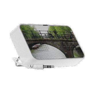 Altavoces portátiles del viaje del puente de la bi