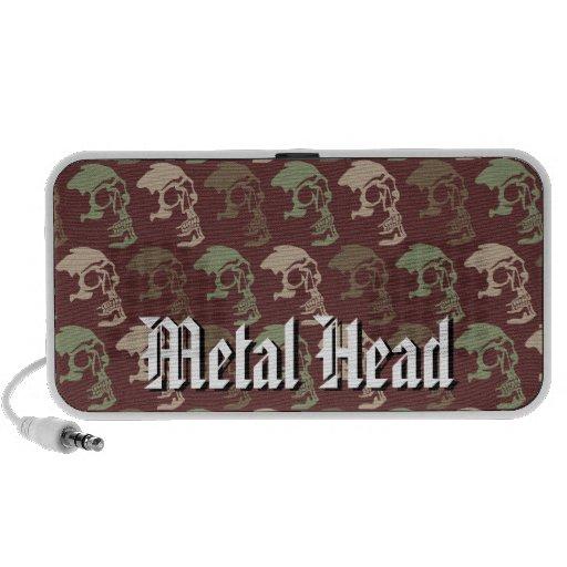 Altavoces principales del metal mini