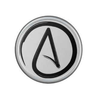 Altavoz ateo del símbolo