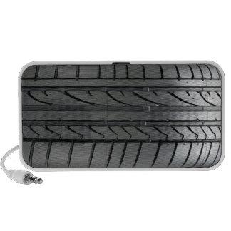 Altavoz auto del Doodle del neumático de coche