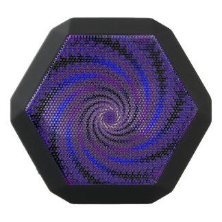 Altavoz azul de Bluetooth del remolino del fractal