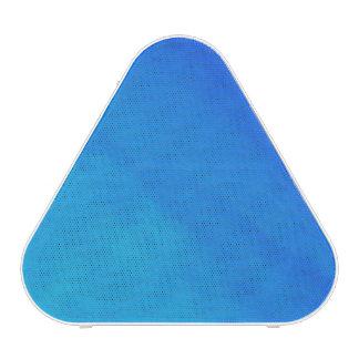 Altavoz azul de la imagen de la plantilla