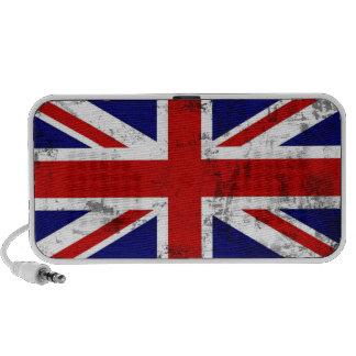 Altavoz británico del ordenador portátil de la ban
