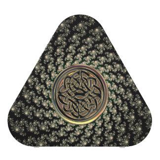 Altavoz céltico de bronce de la mandala del