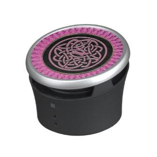 Altavoz céltico rosado de Bluetooth de la mandala