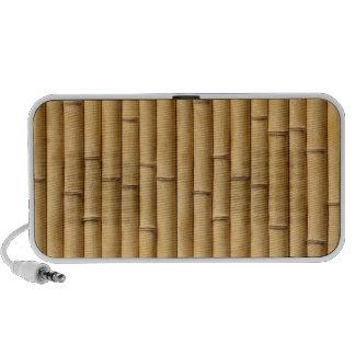 Altavoz de bambú del Doodle