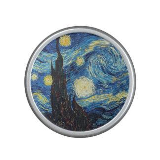 Altavoz de Bluetooth del arte de la noche estrella