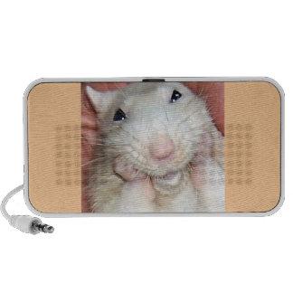 Altavoz de Bridget de la rata del mascota