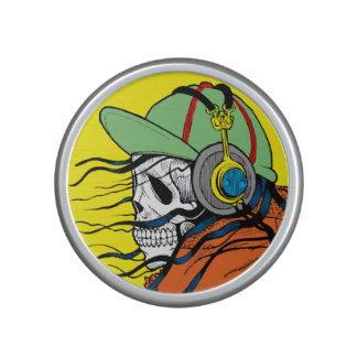 Altavoz de Bumpster Bluetooth del tipo del cráneo