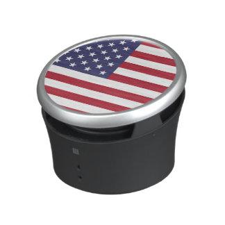 Altavoz de Bumpster de la bandera americana