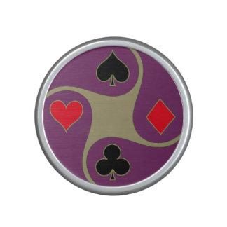 Altavoz de Bumpster de la cara de póker