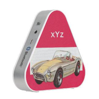 Altavoz de encargo de Bluetooth del monograma del