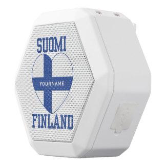 Altavoz de encargo del bluetooth de SUOMI Altavoces Bluetooth Blancos Boombot REX