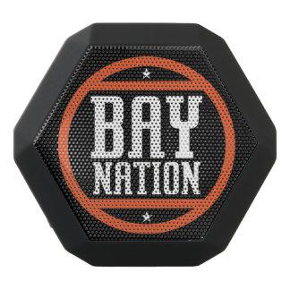 Altavoz de la nación de la bahía altavoces bluetooth negros boombot REX