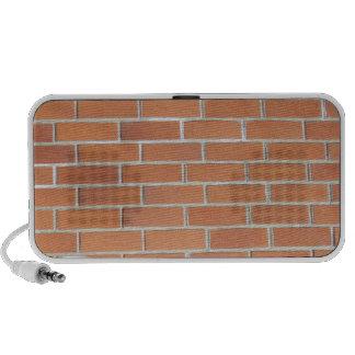 Altavoz de la pared de ladrillo