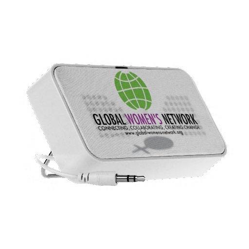 Altavoz de la red de las mujeres globales