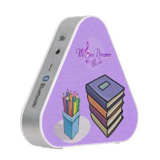 Altavoz de Pieladium Bluetooth de los libros y de