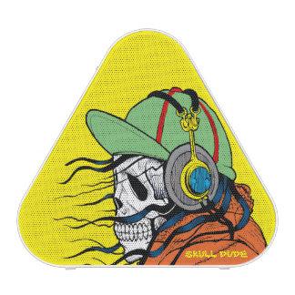 Altavoz de Pieladium Bluetooth del tipo del cráneo