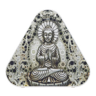 Altavoz de plata de Buda Pieladium Bluetooth