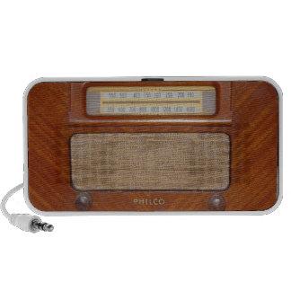 Altavoz de radio del vintage