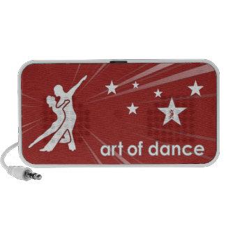 Altavoz del bailarín de la estrella