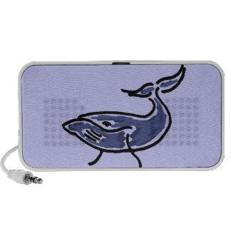 Altavoz del dibujo animado de la ballena azul CV