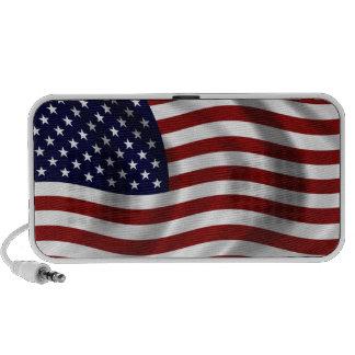 Altavoz del Doodle de la bandera americana que agi