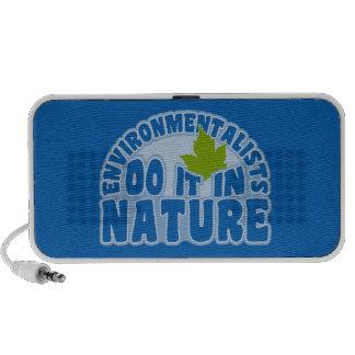 Altavoz del Doodle de los ecologistas